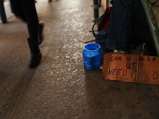 City aims to curb downtown panhandlers
