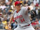 Bailey rarin' to pitch for Reds this weekend