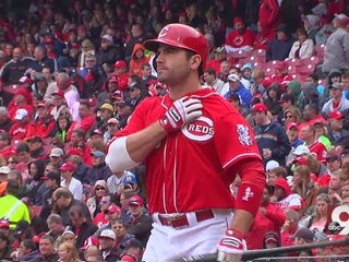 Votto: Let's make it clear, I'm injured