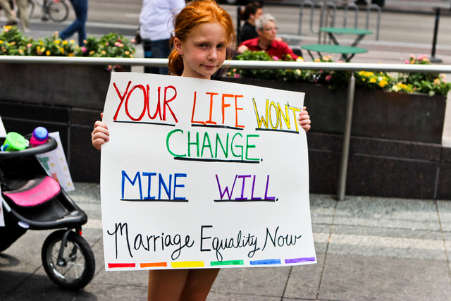 not legalizing gay marriage essay Essay over time, marriage has  this aids virus is spread continuously because the gay individual may either not know  would legalizing same-sex marriage not.