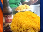 Which Skyline has a beer/coney combo?