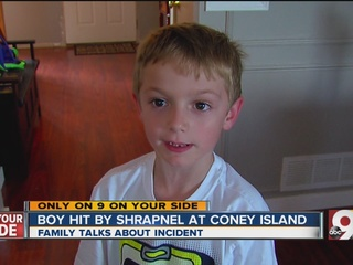 Gunshot at Coney Island hurts 6-year-old, cousin