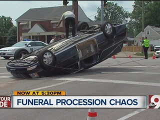Other drivers make funeral processions dangerous