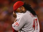 Cueto can't stop Cardinals from sweeping Reds