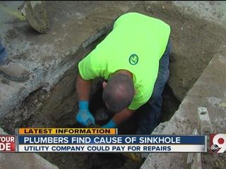 Duke Energy error blamed for Covington sinkhole
