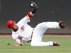 Schumaker pitches 9th, Reds fall 8-0 to Braves
