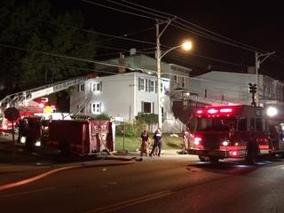 Firefighter injured in Sedamsville house fire