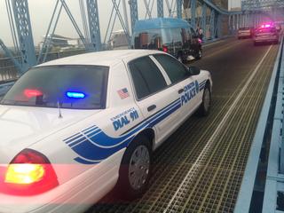 Jogger dies on Roebling Suspension Bridge