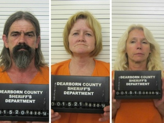 Three arrested in Indiana meth lab bust