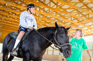 Horse therapy is 'for the love of human beings'