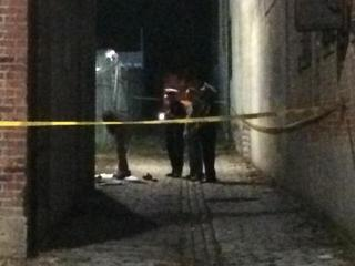 Dispatch: Body of male found in OTR alley