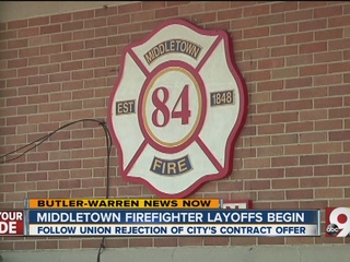No deal: 11 Middletown firefighters to lose jobs