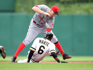 Heisey hits 2 HRs, leads Reds to 3-2 win