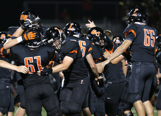 Loveland Tigers 14, Oak Hills Highlanders 13