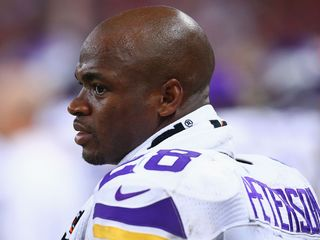 Vikings do about-face, bar Adrian Peterson