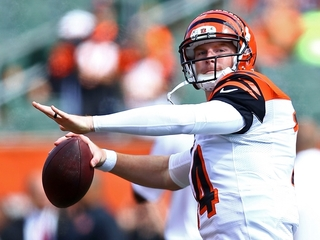 Bengals try to keep Dalton untouched vs Titans
