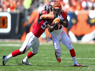 Bengals lose A.J. Green, but beat Falcons 24-10