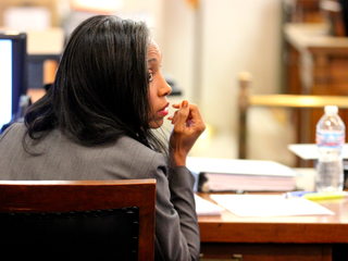 PHOTOS: A judge on trial, inside the courtroom