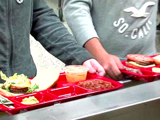 Millions wasted in federal school lunch program