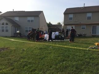 Airplane crashes in Liberty Twp. neighborhood