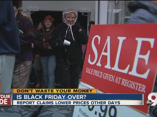 Why Black Friday is so yesterday