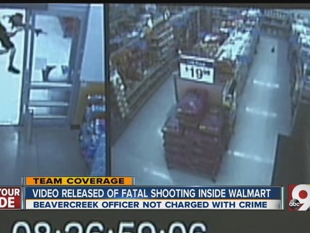 Officer who killed Walmart shopper carrying air rifle won't face federal charges, Justice Dept. says