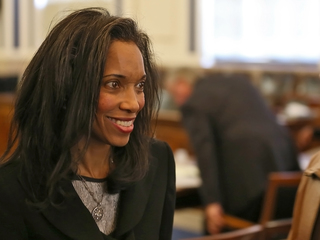 Tracie Hunter's law license suspended by court