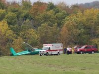 Pilot hurt when small plane makes hard landing