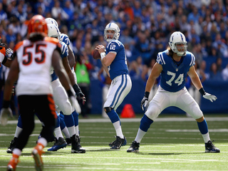 PHOTOS: Bengals kicked in gut by Colts in Indy