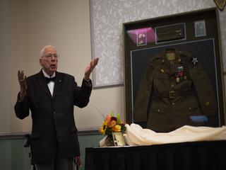 Local WWII vet celebrates 'monumental' birthday