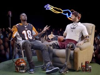 WATCH: AJ Green commercial with Old Spice robot