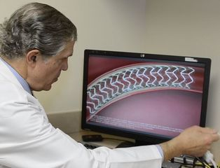 Can tiny, dissolvable stent keep blood flowing?