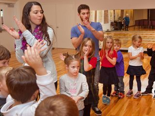Cross-culture dance lesson connects students