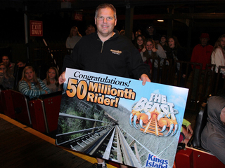 Ohio man is The Beast's 50 millionth rider