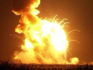 WATCH: Unmanned NASA rocket explodes at liftoff