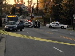 North Bend Road shut down after child struck