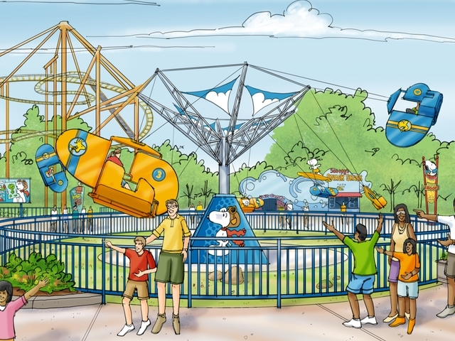 new attractions at Kings Island in 2015. (Provided by Kings Island