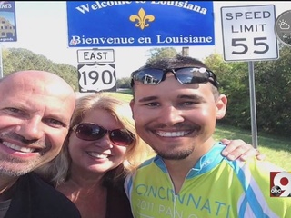 Cancer survivor goes coast to coast for a cause