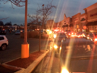Power back in Rookwood area after traffic mess