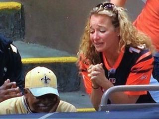 WATCH: Saints fan ruins day for Bengals fan