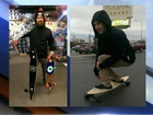 Downhill skating: Grab a longboard & find a hill