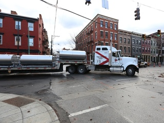 New OTR brewery closes streets for tank arrival