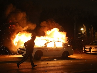 WATCH: Ferguson floods with violent protests