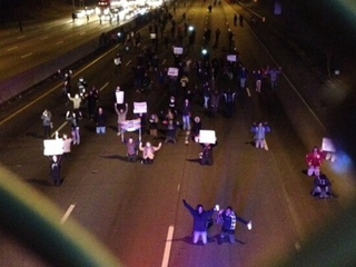 PHOTOS: Protesters take over Cincy streets