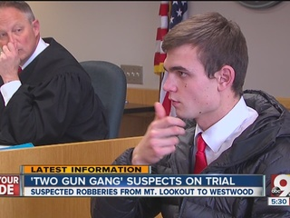 Victims testify against young 2 Gun Gang members
