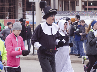 PHOTOS: Cincy holiday tradition: Run, then eat