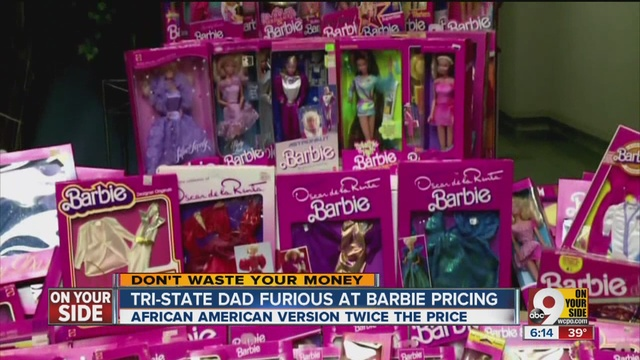 After Fathers Anger Target Adjusts Sales Price Of Black Barbie Doll