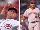Reds trade away starting pitchers Latos, Simon