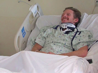 WATCH: St. X grad recovers after shattering back