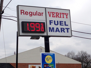 $1.99 gas returns to Cincinnati area